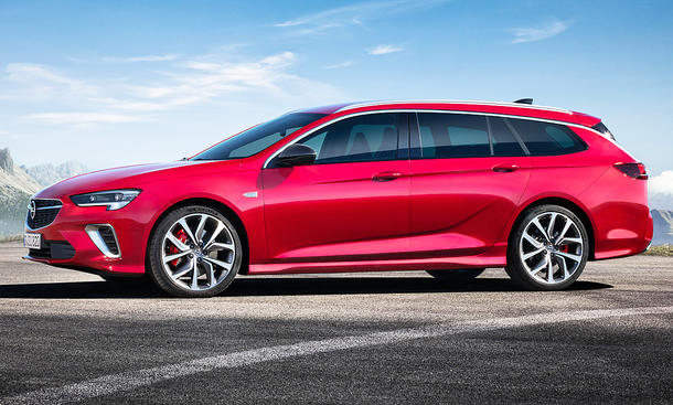 Opel Insignia Sports Tourer GSi Facelift