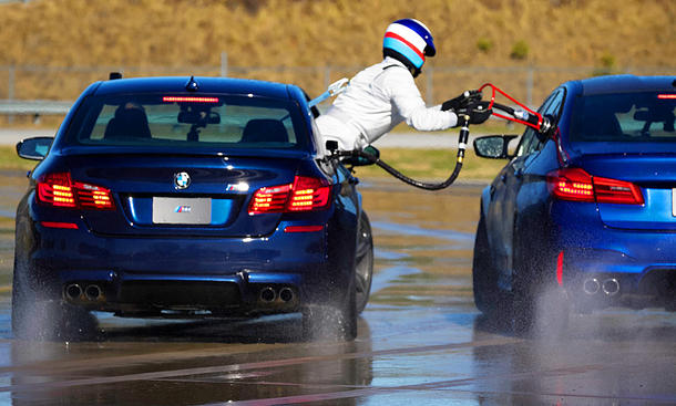 BMW M5 Weltrekord