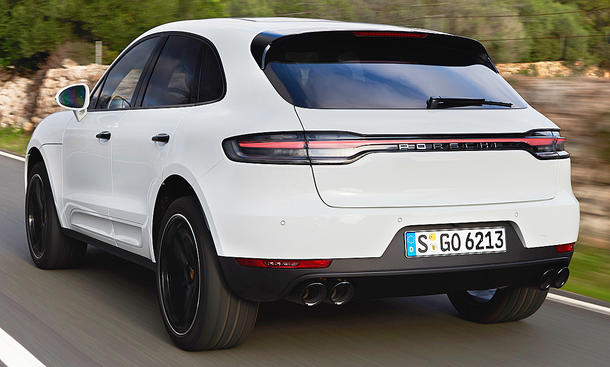 Porsche Macan S Facelift