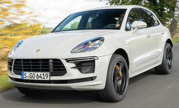 Porsche Macan Turbo Facelift