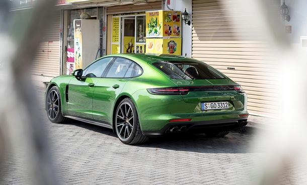 Porsche Panamera GTS: Test