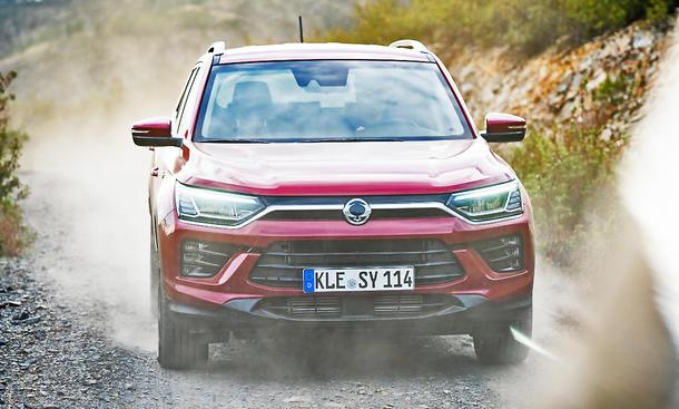 SsangYong Korando 1.5 T-GDI 4WD Automatik
