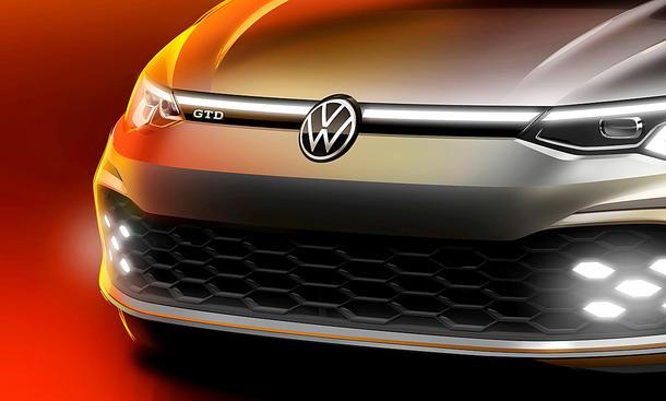 VW Golf 8 GTD (2020)