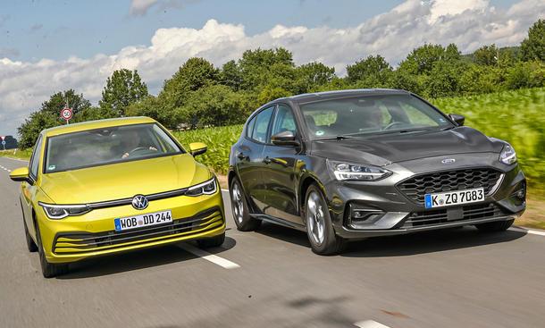 VW Golf/Ford Focus
