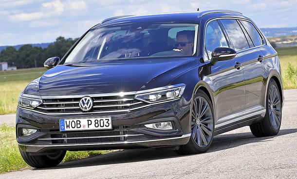 VW Passat Variant Facelift: Test
