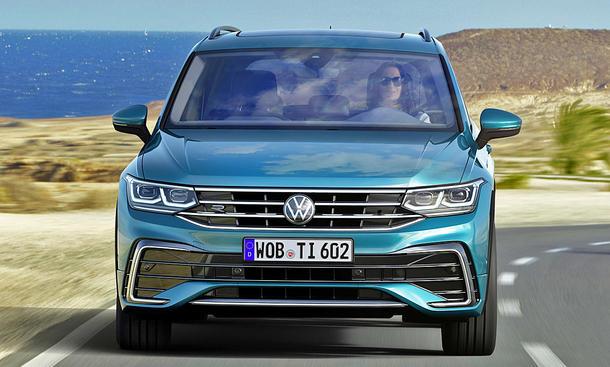 VW Tiguan Facelift (2020)