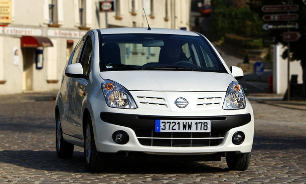 Betrachten Sie den neuen Nissan Pixo in der Bilder-Galerie der AUTO ZEITUNG
