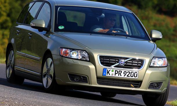 Volvo V50 1.6D DRIVe Start/Stopp: Frontansicht