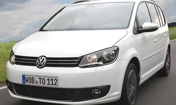 Der VW Touran 1.6 TDI BlueMotion Technology mit neuem Motor und frischer Optik