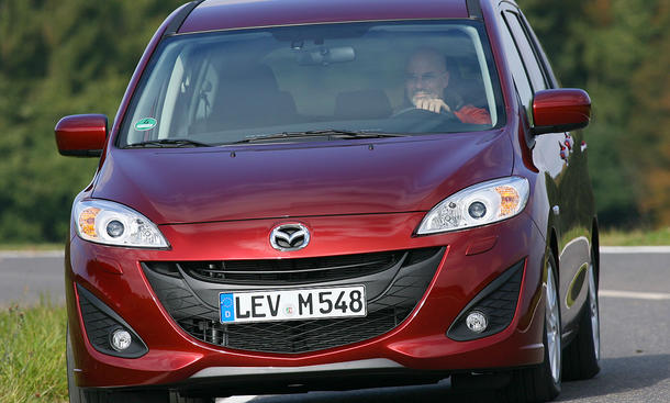 Mazda 5 2.0 DISI i-stop Basis-Preis Kompaktvan