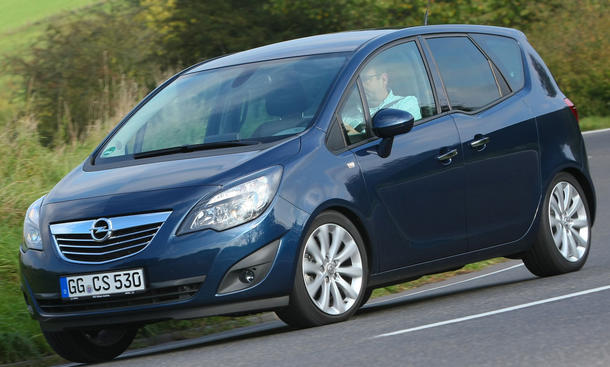 Opel Meriva 1.7 CDTI Top-Version mit 130 PS