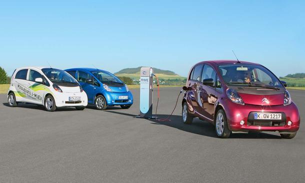Elektroautos im Reichweiten-Test