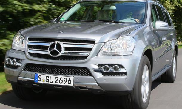 Mercedes GL 350 CDI BlueEfficiency