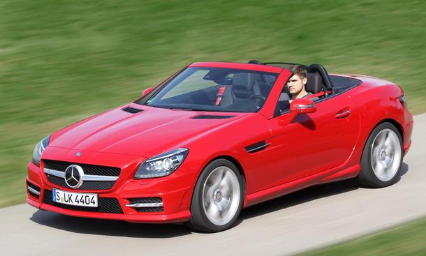 Mercedes SLK 250 CDI BlueEFFICIENCY -
