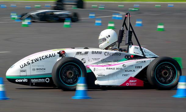 Formula Student 2012 Germany University Racing Video Stuttgart Delft
