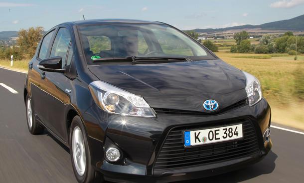 Bilder Toyota Yaris Hybrid 2012