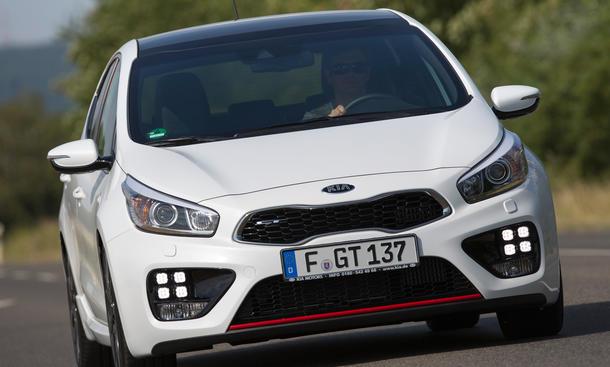Kia cee'd GT Test Bilder technische Daten