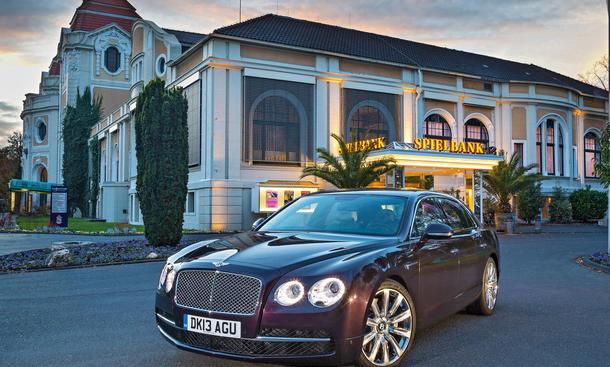 Bilder Bentley New Flying Spur Einzeltest Test Luxusklasse Limousine