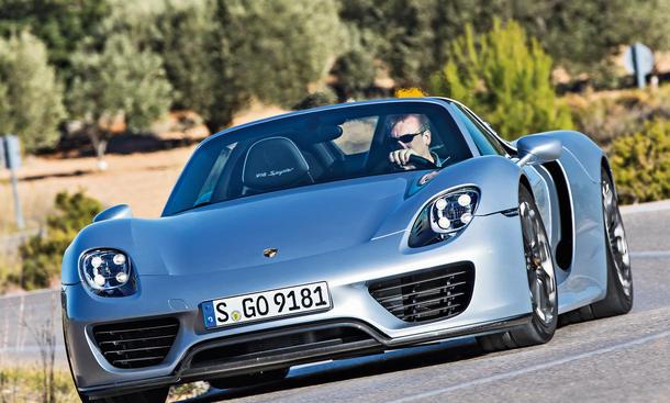 Porsche 918 Spyder Fahrbericht Exklusiv Bilder technische Daten