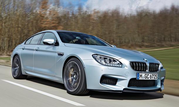 BMW M6 Gran Coupe Test Bilder technische Daten
