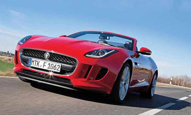 Jaguar F-Type Cabriolet Test Bilder technische Daten