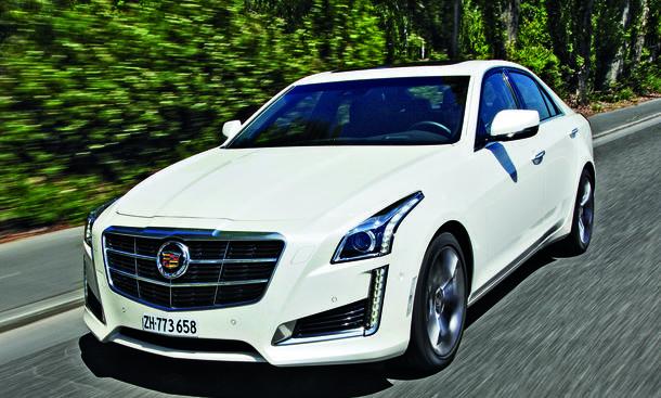 Cadillac CTS 2.0 Turbo Einzeltest Bilder technische Daten Preis Limousine