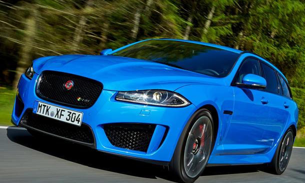 Jaguar XFR-S Sportbrake Sportler Kombi Test