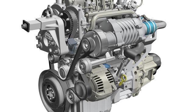 Renault Zweizylinder Zweitakt Diesel Nutzfahrzeug Motor Powerful City-Lieferwagen