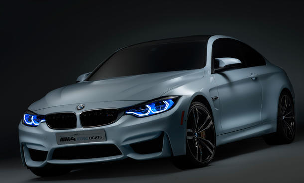 BMW M4 Iconic lights oled laserlicht Concept 0002