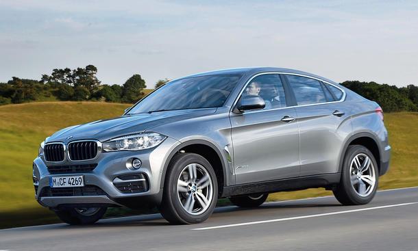 BMW X6 xDrive 30d 2014 SUV Coupe Diesel Sechszylinder Premium Test Bilder