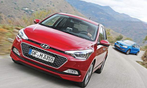 Hyundai i20 2.Generation Test Bilder technische Daten