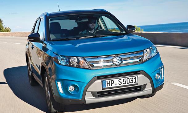 Suzuki Vitara 1.6 DDiS 4x4 SUV Test Allradantrieb Diesel Vierzylinder