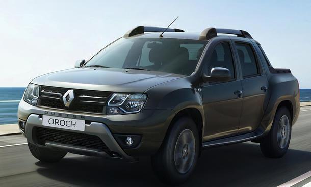 Renault Duster Oroch Pick-up Truck Dacia Südamerika Pickup