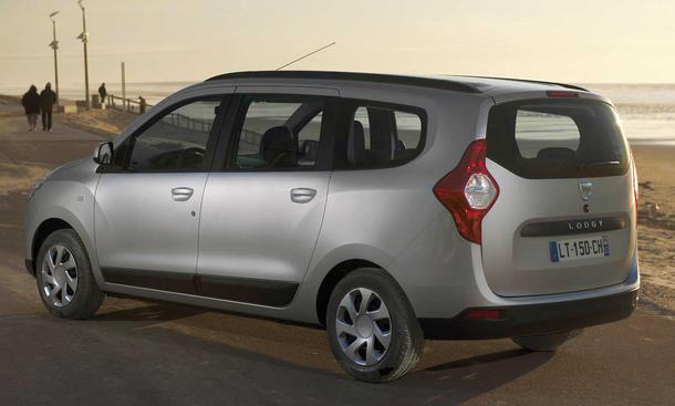 Dacia Lodgy Kompakt Van 2012 Preise ab 9.990 Euro