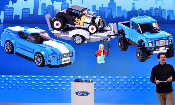 Ford trifft Lego in Detroit