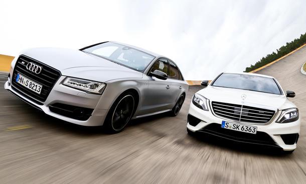 Audi S8 plus/Mercedes-AMG S 63: Vergleichstest