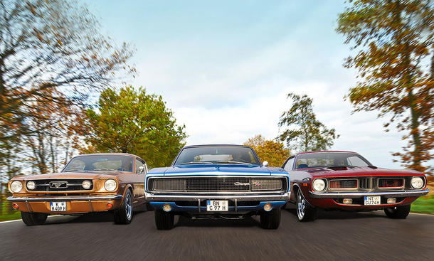 Dodge, Ford, Plymouth: US-Coupé-Vergleich