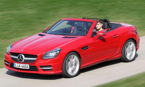 Mercedes SLK im Gebrauchtwagen-Check