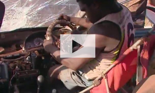 Schrottauto fährt wieder: Video