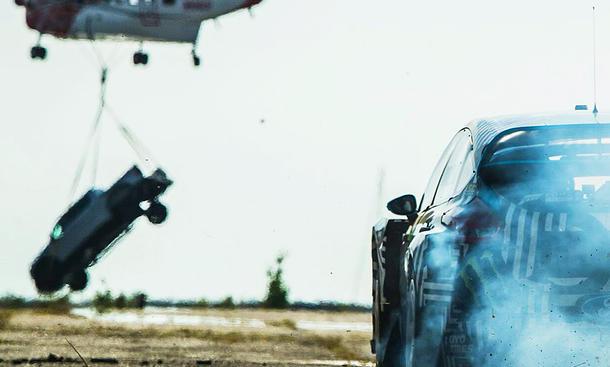 Ken Blocks Ford Focus RS RX für Gymkhana 9
