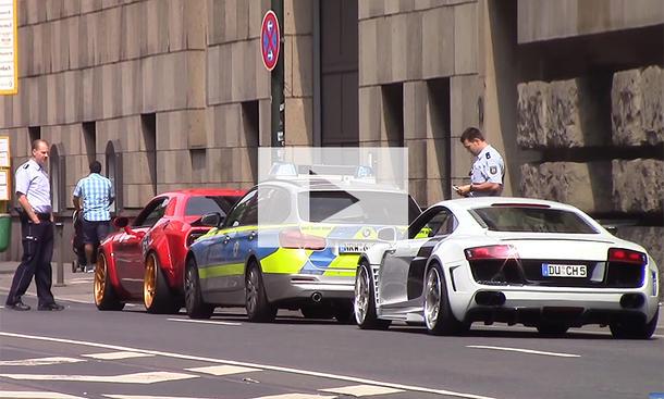 Prior-Design Hellcat von Polizei gestoppt: Video