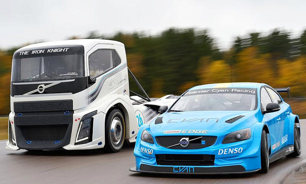 "Volvo S60 Polestar TC1 gegen Volvo ""The Iron Knight"""