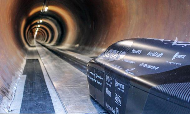 Hyperloop Pod Wettbewerb 2018