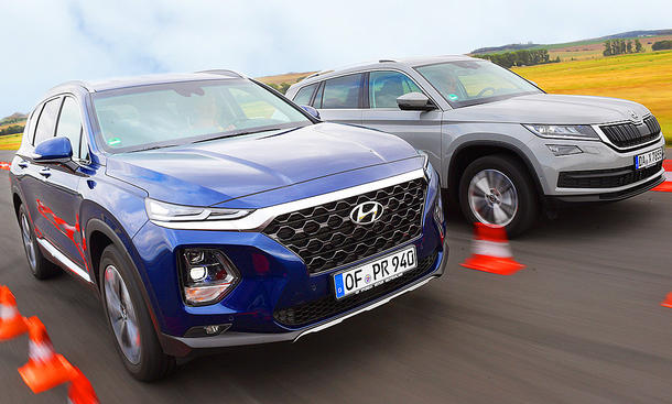 Hyundai Santa Fe/Skoda Kodiaq