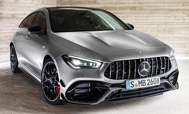 Mercedes-AMG CLA 45 Shooting Break (2019)