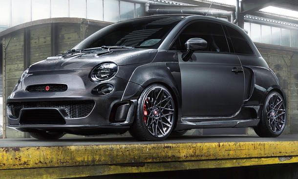 Abarth 500 von Pogea Racing