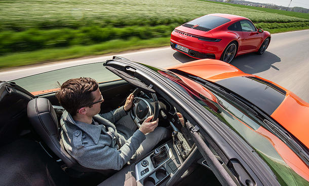 Chevrolet Corvette Grand Sport Coupé/Porsche 911 Carrera S