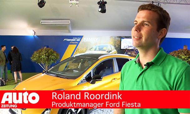 Roland Roordink (Produktmanager Ford Fiesta)