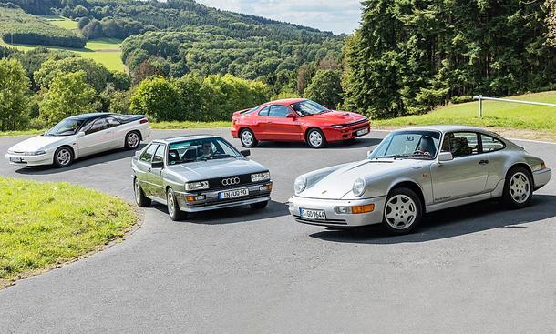 SVX/quattro/Celica/911