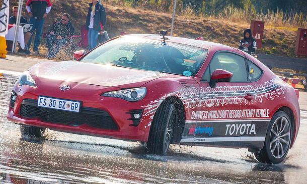 Toyota GT86 Drift-Weltrekord